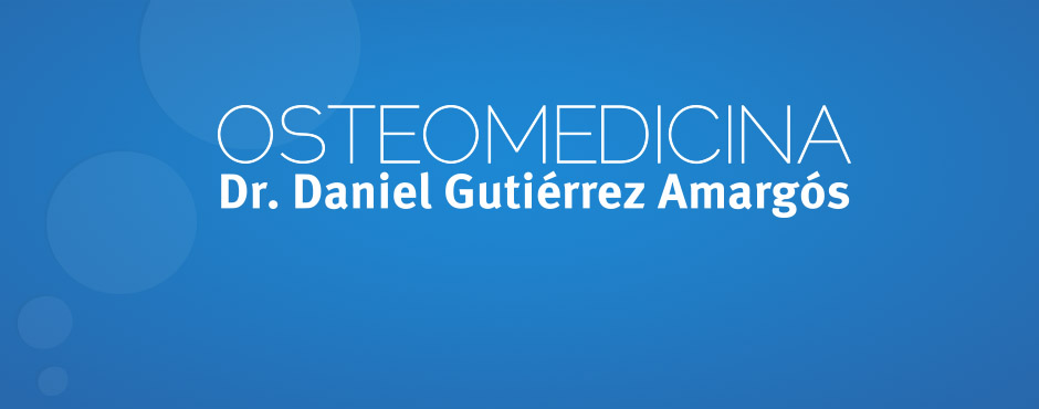<h1>Osteomedicina.com</h1><p>Welcome to Osteomedicina website. Under the supervision of Dr. Daniel Gutierrez Amargós, specialist Orthopaedic Manual Medicine and Osteopathy.</p>